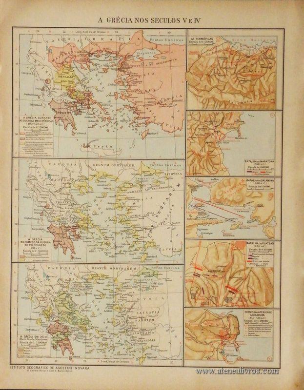 A Grécia nos Seculos V e IV «€5.00»