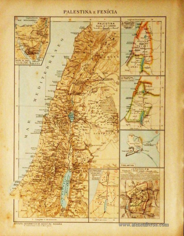 Palestina e Fenícia «€5.00»