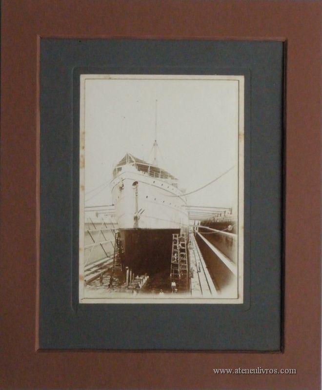 """Paquete """"Africa"""" - Companhia Nacional de Navegação - 1907 - €35.00»"""