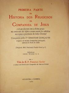 Primeira Parte da Historia da Companhia de Jesus «€180.00»