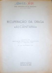 Recuperação da Draga«Alcântara» «€15.00»
