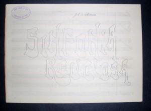 Sinfonia Religiosa - Arranjo em Manuscrito «€10.00»