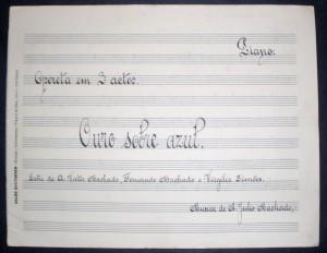 Ouro Sobre Azul «Opera em 3 Actos» «€10.00»