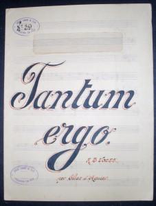 Tantum Ergo «Valsa» «€10.00»