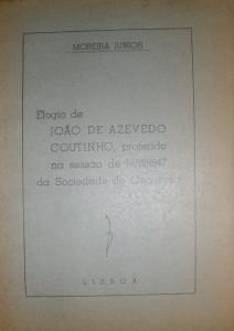 Elogio de João de Azevedo Coutinho «€10.00»