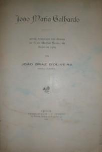 João Maria Galhardo «€15.00»