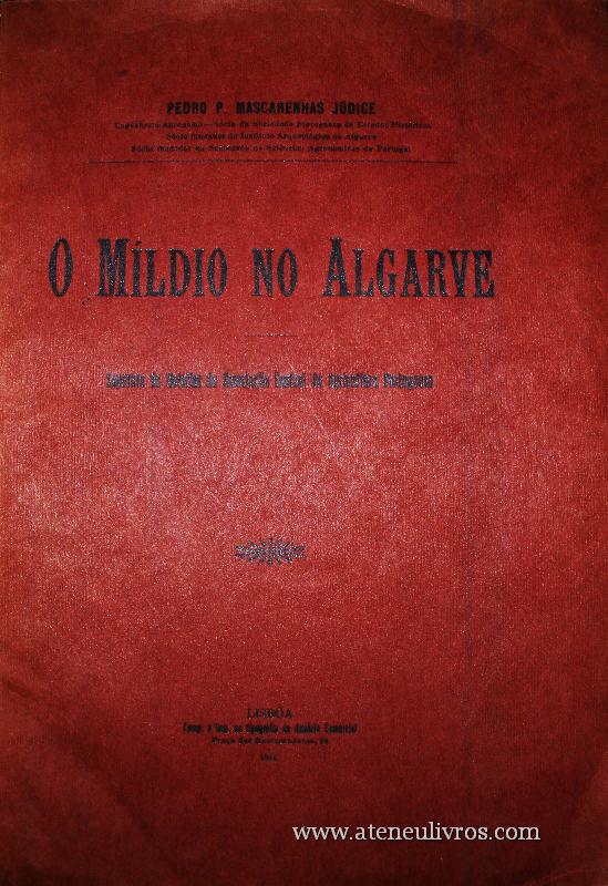 O Míldio no Algarve €15.00»