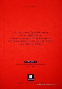 Ana Afonso - Anotação a Acórdão Do STJ De 13 De Setembro De 2007 o Problema Da Qualificação E regime Dos Contratos De Instalação De Lojista Em Centro Comercial «€7.00»