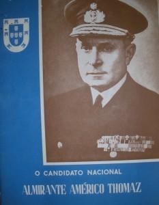 Notas Biográficas do Senhor Contra-Almirante Américo Thomaz  «€5.00»