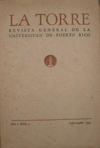 Revista General de La Universidade de Puerto Rico «€20.00»