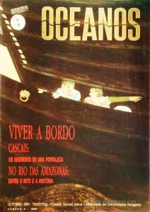 Oceanos«Viver a Bordo» nº2 - Comissão Nacional Para as Comemorações dos Descobrimentos Portugueses - Lisboa - Outubro - 1989 - «€25.00»
