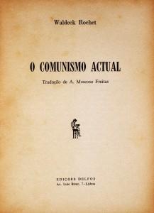 O Comunismo Actual  «€10.00»