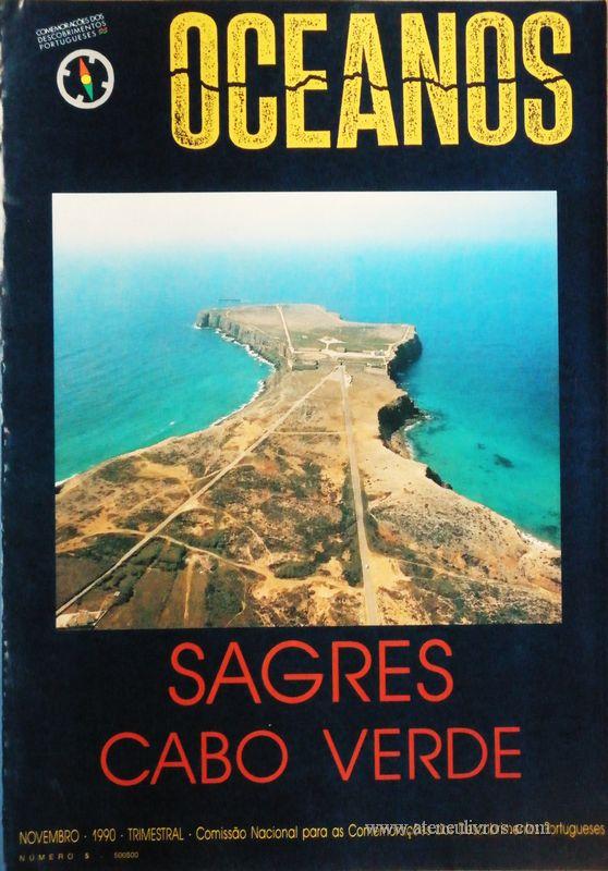 Oceanos«Sagres / Cabo Verde» nº5 - Comissão Nacional Para as Comemorações dos Descobrimentos Portugueses - Lisboa - Novembro - 1990 - «€30.00»