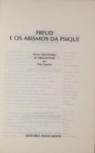 Freud e os Abismos da Psique  «€10.00»