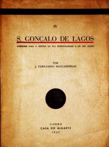 S.Gonçalo de Lagos«Subsídios para o Estudo da sua Personalidade e do seu Culto» «€15.00»