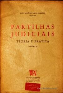 Partilhas Judiciais «Teoria e Prática» «€15.00»