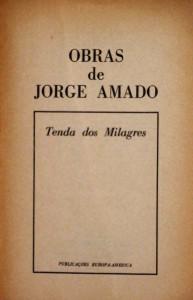 Tenda dos Milagres «€35.00»