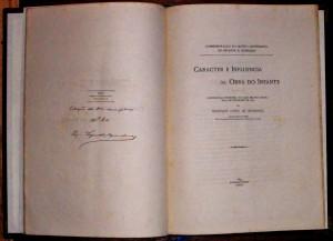 Carácter e Influencias da Obra do Infante «€100.00»