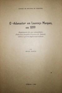 O«Adamastor» em Lourenço Marques em 1899 «€20.00»