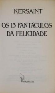 Os 13 Pantáculos da Felicidade
