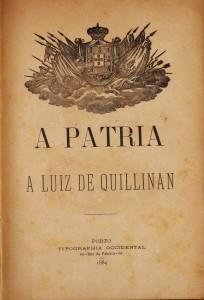 A Pátria a Luiz Quillinan