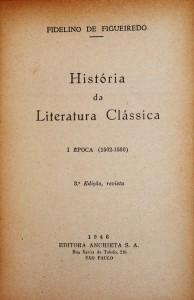 História da Literatura Clássica
