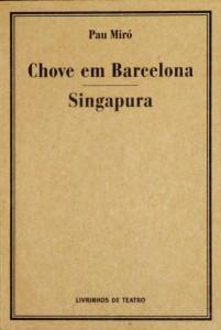 Chove em Barcelona Singapura