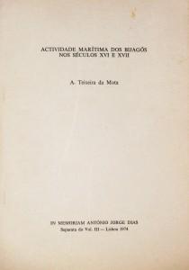 Actividades Marítimas dos Bilagós nos Séculos XVI e XVII