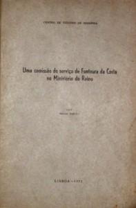 Uma Comissão de Serviço de Fontoura da Costa no Ministério do Reino