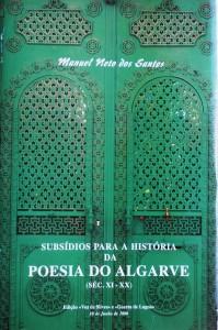 Subsidio Para a História da Poesia do Algarve (Séc. XI -XX)