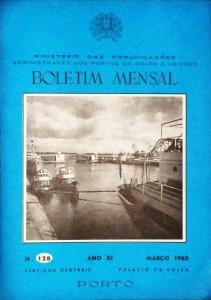 Boletim Mensal »Ministério das Comunicações e Administração dos Portos do Douro e Leixões