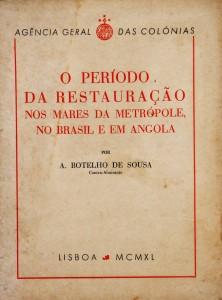 O Período da Restauração nos Mares da Metrópole, no Brasil e em Angola