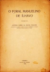 O Foral Manuelino de Ílhavo