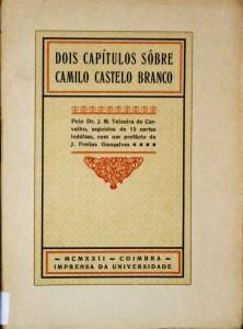 Dois Capítulos Sobre Camilo Castelo Branco