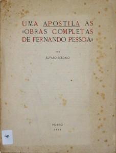 """Uma Apostila ás """"Obras Completas de Fernando Pessoa"""""""