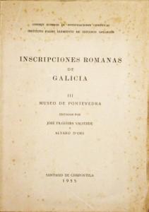 Incripciones Romanas de Galicia «Museu de Pontevedra»