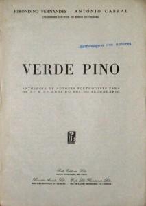 Verde Pino - Antologia de Autores Portugueses