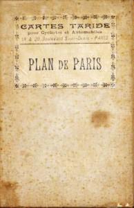 Plan de Paris «Mapa da Cidade de Paris»