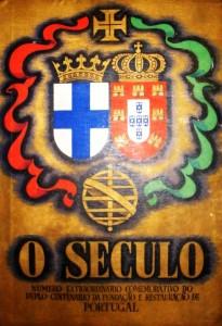 O Século«Numero Extraordinário Comemorativo do Duplo Centenário da Fundação e Restauração de Portugal