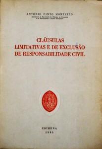 Cláusulas Limitativas e de Exclusão de Responsabilidade Civil