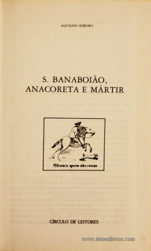S. Banaboião, Anacoreta e Mártir «€5.00»