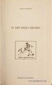 O Arcanjo Negro «€5.00»