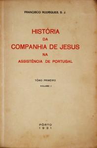 História da Companhia de Jesus na Assistência de Portugal