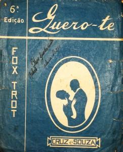 Cruz e Souza - Quero-te «€5.00»