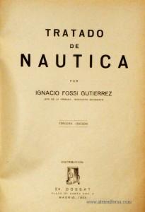 Tratado de Nautica