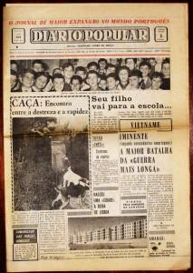 Jornal « Diário Popular» «€5.00»