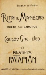 Rita e Manécas «Revista Rataplan» «€5.00»