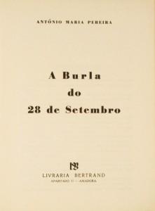 A Burla do 28 de Setembro