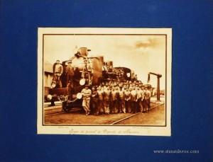 Grupo de Pessoal do Deposito do Barreira - Lisboa - 1931 - €15.00»