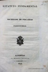Estatuto Fundamental da Sociedade de Pescarias Portuguezas